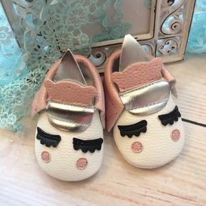 Other - Boutique Baby Girl Unicorn Shoes
